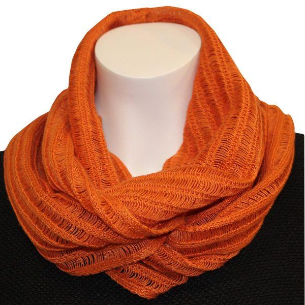 Selma-huivi 13022 oranssi