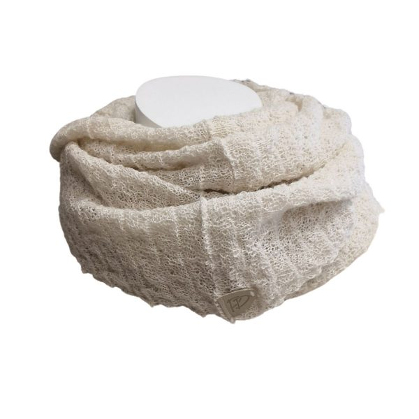 Pirita Design Käpy-tuubihuivi 19122 white