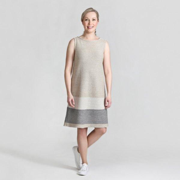 Pirita Design Orvokki-mekko pellava