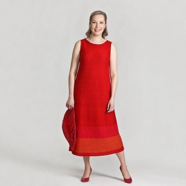 Pirita Design Leinikki-mekko punainen
