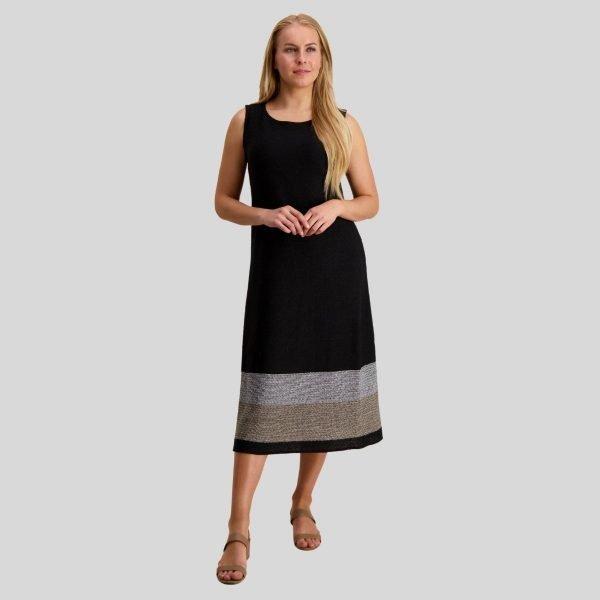 Pirita Design Leinikki-mekko musta