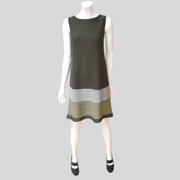 Pirita Design Orvokki-mekko oliivi